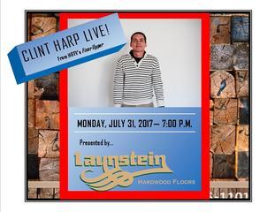 Clint Harp Live!