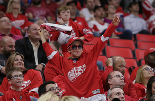 Red Wings beat Wild 4-2 in opener at new arena