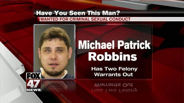 Man wanted for felony criminal sexual conduct in Lansing ...