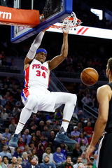 Pistons rout Timberwolves 122-101
