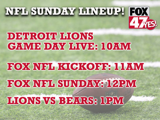 Lions take on the Bears today at 1PM!
