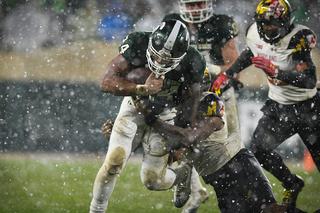 No. 22 Michigan State beats Maryland 17-7
