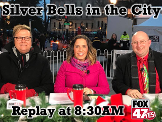 The Silver Bells parade replays on Thanksgiving!