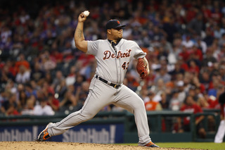 Tigers aren't tendering contract to Bruce Rondon