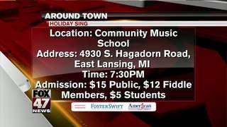 Around Town 12/14/17: Holiday Sing