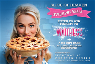 Enter to win tickets to Waitress at Wharton!