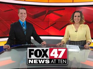 Get your late news earlier tonight at ten