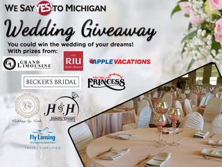 Last weekend to register to win a FREE wedding!