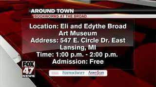 Around Town 1/9/18: Bookworms at the Broad