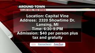 Around Town 1/10/18: Club Vine: Red Wines