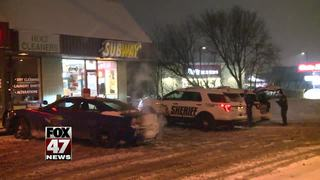 Police looking for suspect in Subway robbery