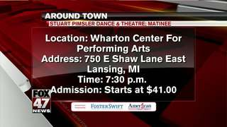 Around Town 1/16/18: Stuart Pimsler Matinee