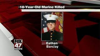U.S. Marine stabbed to death at Camp Pendleton
