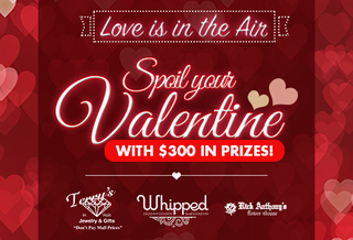 Enter to win a dream Valentine's Day!