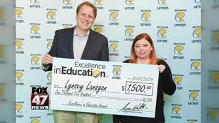 Excellence in Education 2/1/18: Lynsey Lanagan