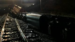 Washout may have caused freight train derailment