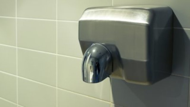 Hand dryers can spread poo particles to your recently-washed hands