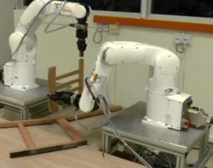 Robots build IKEA furniture
