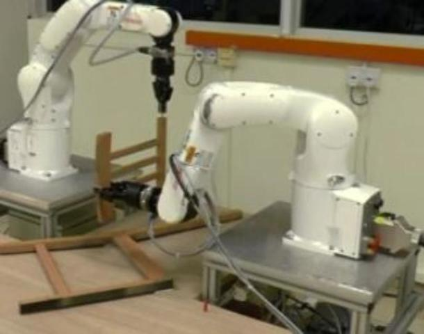 Robots assemble Ikea chair in under ten minutes