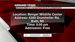 Around Town 5/23: Wildlife Night