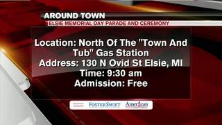 Around Town 5/25: Elsie Memorial Day Parade