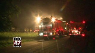 Barn destroyed in fire, cause unknown