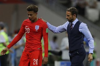 Dele Alli misses training for England
