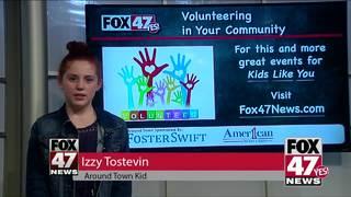 Around Town Kids 6/22/18: Community Volunteering