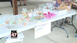 9-year-old holds bake sale to raise money