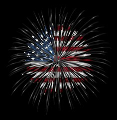 Local fireworks displays by county