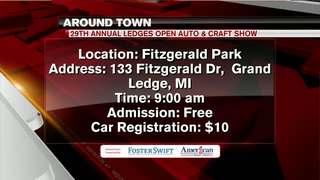 Around Town 7/12/18: Ledges Open Auto Craft show