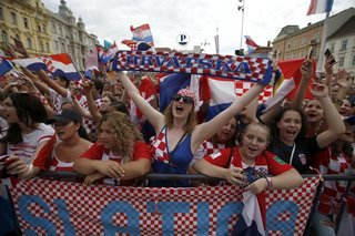 More than 250,000 greet Croatian team after loss