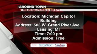 Around Town 7/18/18: Poetry in the City