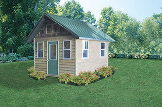 A storage shed is just the ticket!