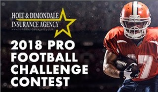 2018 Pro Football Contest: Make your picks here!
