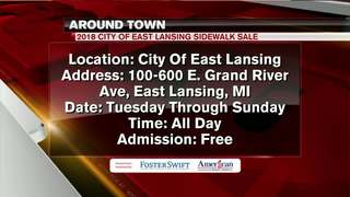 Around Town 9/11/18: East Lansing Sidewalk Sale