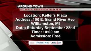 Around Town 9/19/18 - Williamston Alley Fest