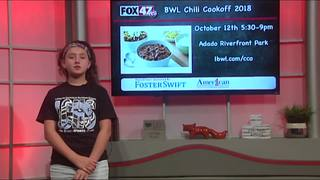 Around Town Kids 9/21/18: 2018 BWL Chili Cookoff