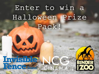 Enter to win Halloween prize pack