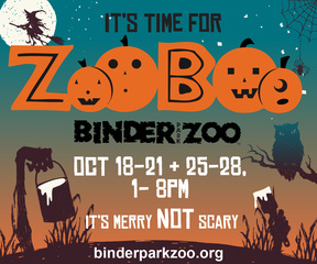 Binder Park Zoo presents eight days of ZooBoo!