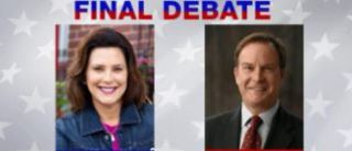 Final debate for Governor