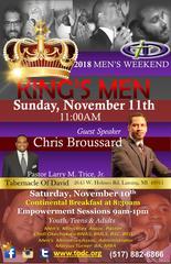 King's Men, 2018 Men's Weekend