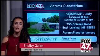 Around Town Kids 10/19/18: Abrams Planetarium
