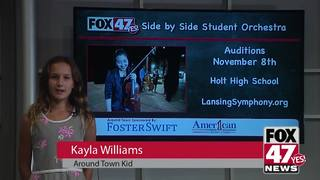 Around Town Kids 11/2/18: Side by Side Orchestra