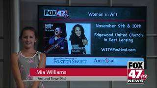 Around Town Kids 11/9/18: Women in Art