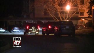 Man hospitalized in overnight shooting