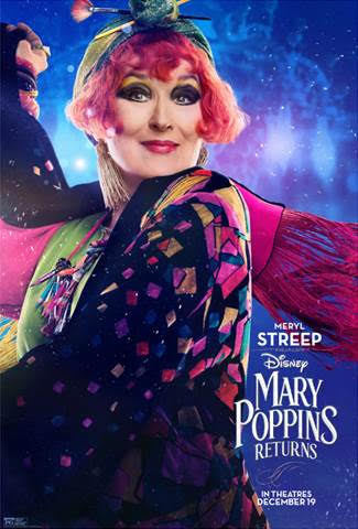 New Character Posters Sneak Peek From Disney S Mary Poppins Returns